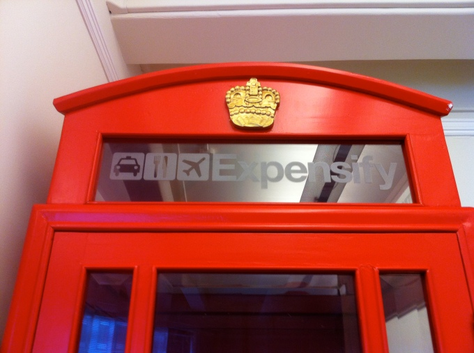 Expensify Phone Booth