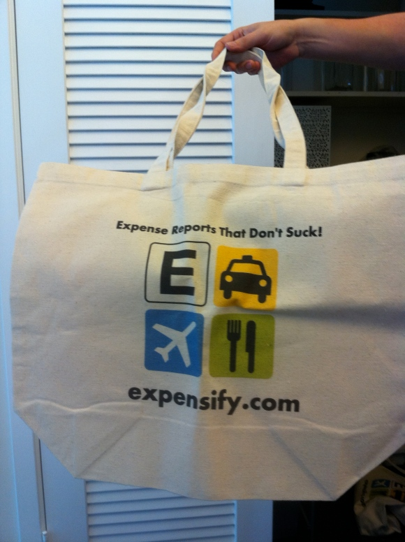 Expensify Tote Bags