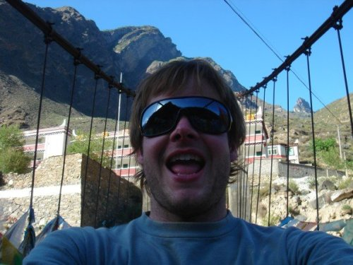 Jason in Tibet