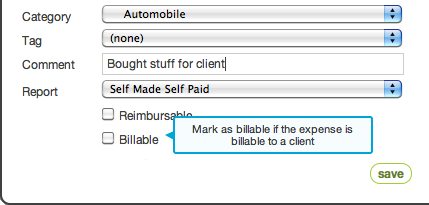 Billable support for invoices in QuickBooks