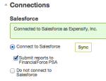 Connect to FinancialForce