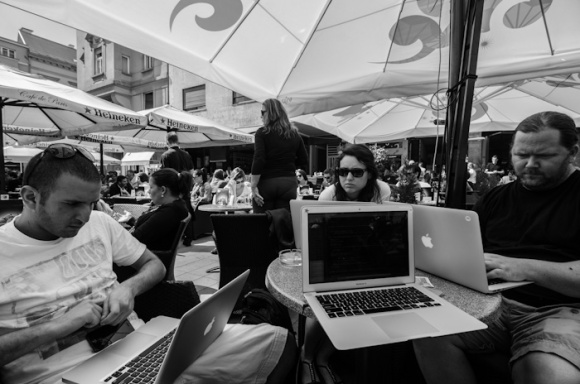 Working in Zagreb