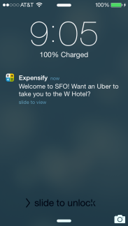 Expensify Uber