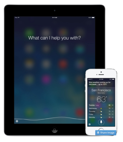 In an ideal world, Siri would already know. Photo credits: Apple