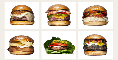 A drool-worthy sampling of 5 Napkin burgers
