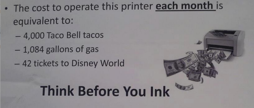before you ink, think