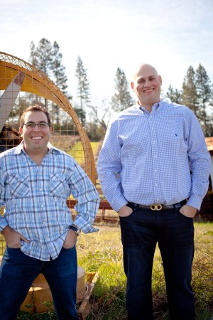 Greg Scheinfeld and Jay Levy, co-founders of Uproot Wines who Love expense reporting software expensify