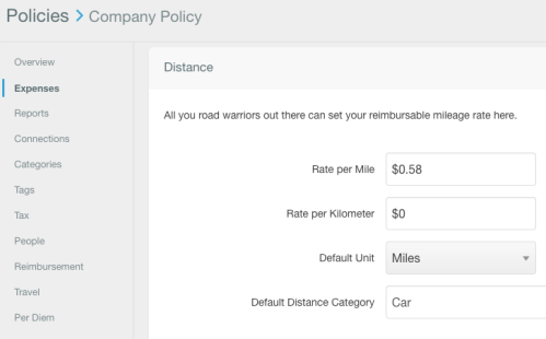 Reminder to Update Your Mileage Rate for 2019! « Expensify Blog